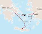 Griechenland Kreuzfahrt und Baden
