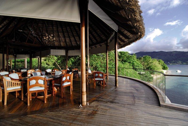 Cerf Island ResortTerasse