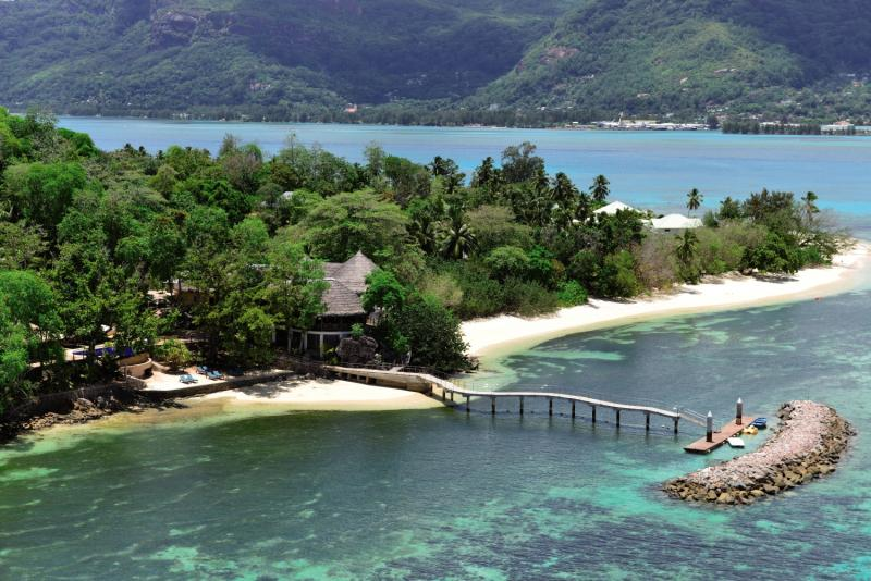 Cerf Island ResortLandschaft