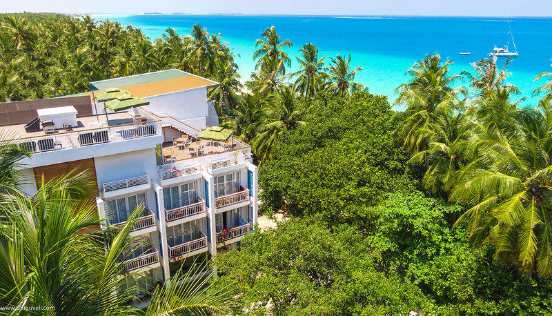 7 Tage in Alif Dhaal (Süd Ari) Atoll Dhiguveli Maldives