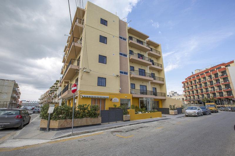 Huli Hotel und Apartments in Qawra, Malta