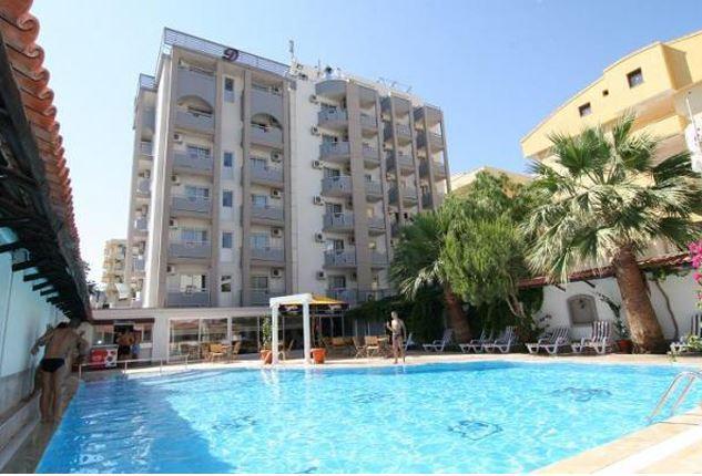 Hotel Dabaklar in Kusadasi, Türkische Ägäis P