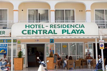 Central Playa in Figueretas, Ibiza A