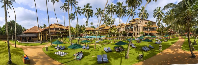 Royal Palms Beach Hotel in Kalutara, Sri Lanka A