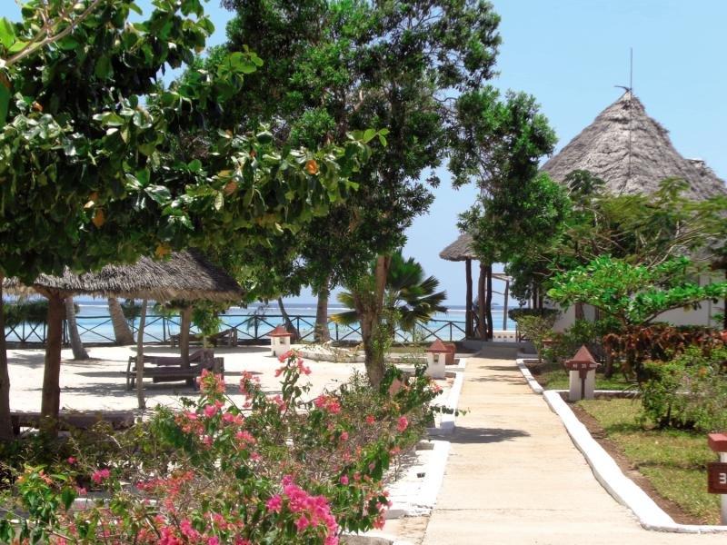 Reef und Beach Resort in Makunduchi, Tansania - Insel Zanzibar GA