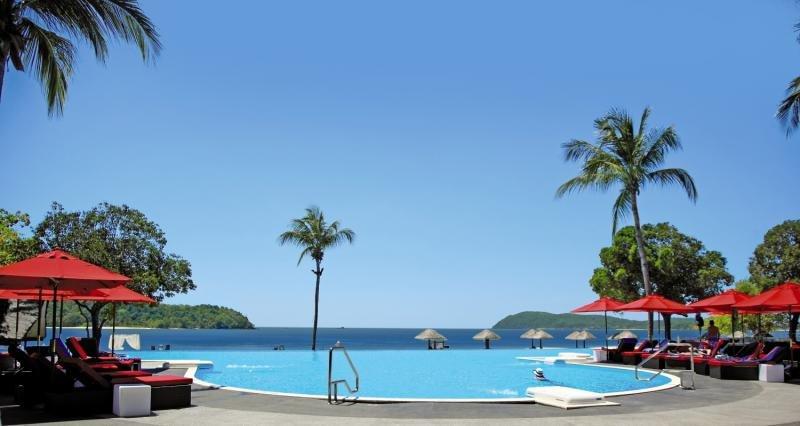 Federal Villa Beach Resort in Tengah Beach, Malaysia - Kedah P