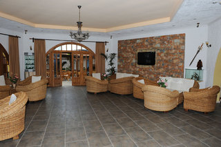 Hotel Gaia Garden Lounge/Empfang