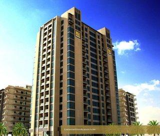 Hotel Abidos Hotel Apartment Dubailand Außenaufnahme