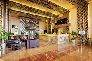 Hotel Abidos Hotel Apartment Dubailand Lounge/Empfang