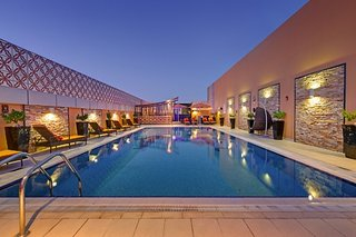 Hotel Abidos Hotel Apartment Dubailand Pool