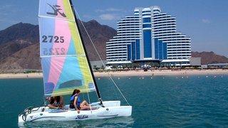 Hotel Le Meridien Al Aqah Beach Resort Sport und Freizeit