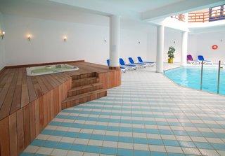 Hotel Lagas Aegean Village Hallenbad