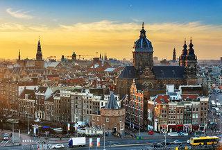 Hotel Amsterdam Tropen Hotel Stadtansicht