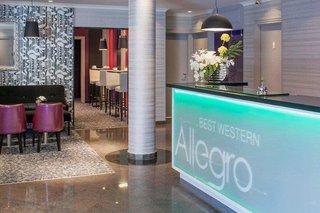 Hotel Best Western Allegro Nation Lounge/Empfang