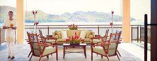 Hotel Raffles Seychelles Terasse
