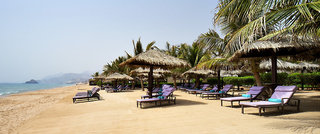 Hotel Le Meridien Al Aqah Beach Resort Strand