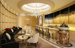 Hotel Habtoor Palace, LXR Hotels & Resorts Bar
