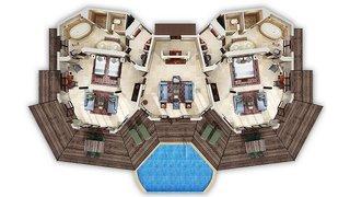 Hotel Al Maha, A Luxury Collection Desert Resort & Spa Wohnbeispiel