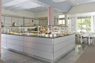 Hotel Arvena Park Hotel Frühstücksraum