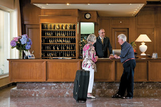 Hotel Alexander Terme Lounge/Empfang