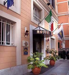 Hotel Best Western Artdeco Außenaufnahme