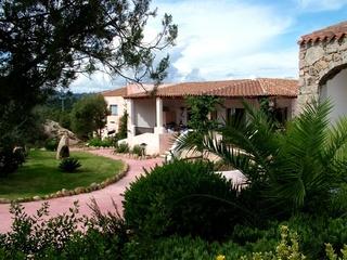 Hotel Li Graniti Garten