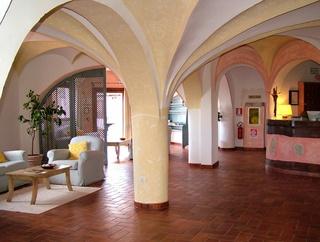 Hotel Li Graniti Lounge/Empfang