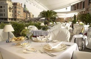 Hotel Principe Venedig Terasse