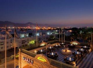 Hotel Grand Hyatt Muscat Außenaufnahme