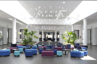 Hotel Club Marmara Palm Beach Lounge/Empfang