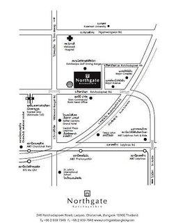 Hotel Northgate Ratchayothin Serviced Residence Landkarte