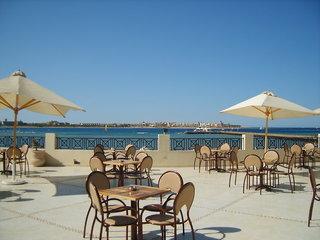Hotel Cleopatra Luxury Beach Resort - Erwachsenenhotel Terasse