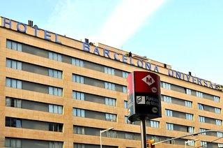 Hotel Barcelona Universal Außenaufnahme