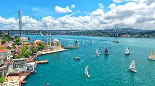 Hotel Albatros Hagia Sophia Meer/Hafen/Schiff