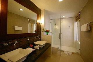 Hotel Coconut Village Resort Badezimmer