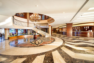 Hotel Amwaj Blue Beach Resort & Spa Lounge/Empfang