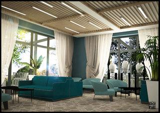 Hotel Almyros Beach Resort Lounge/Empfang