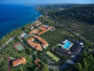 Hotel Acrotel Athena Pallas Luftaufnahme