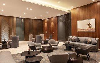 Hotel Hilton Garden Inn Dubai Al Jadaf Culture Village Lounge/Empfang