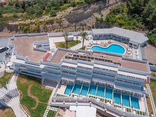 Hotel Aloe - Erwachsenenhotel Luftaufnahme