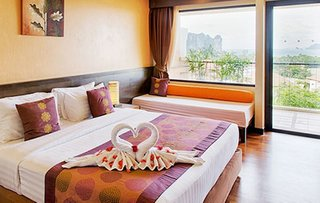 Hotel Avani Ao Nang Cliff Krabi Resort Wohnbeispiel