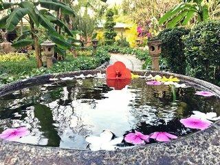 Hotel Diamond Bay Resort Garten