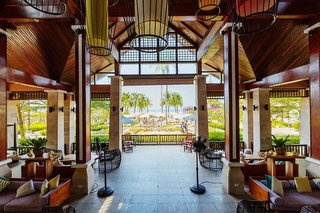 Hotel Apsara Beachfront Resort & Villa Lounge/Empfang