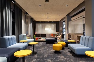 Hotel a&o Frankfurt Ostend Lounge/Empfang