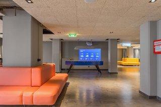 Hotel a&o Hauptbahnhof Lounge/Empfang
