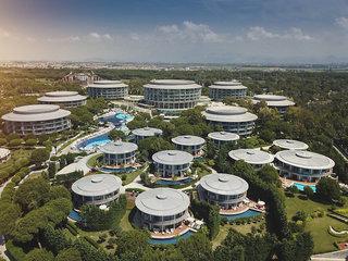 Hotel Calista Luxury Resort Luftaufnahme