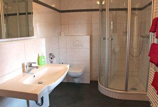 Hotel Zur Igelstadt Badezimmer