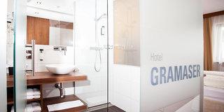 Hotel Hotel Gramaser & Grill Alm Badezimmer