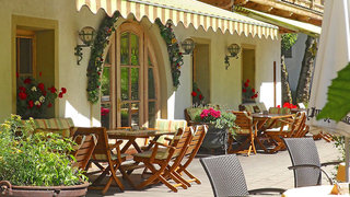Hotel Landgasthof Dorferwirt Terasse