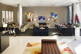 Hotel Conqueridor Lounge/Empfang